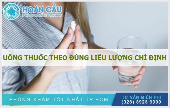 Dùng thuốc đúng với liều lượng quy định