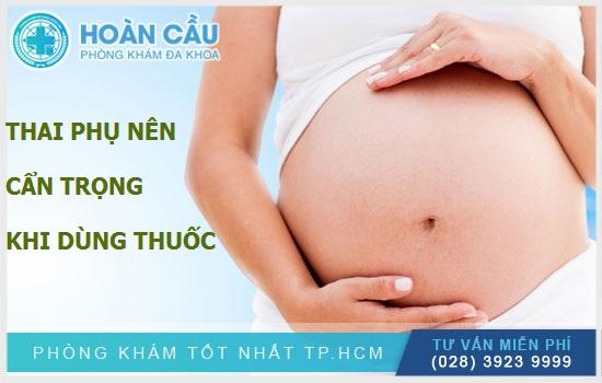 Các chị em đang mang thai hay cho con bú nên thận trọng khi dùng Levocetirizine