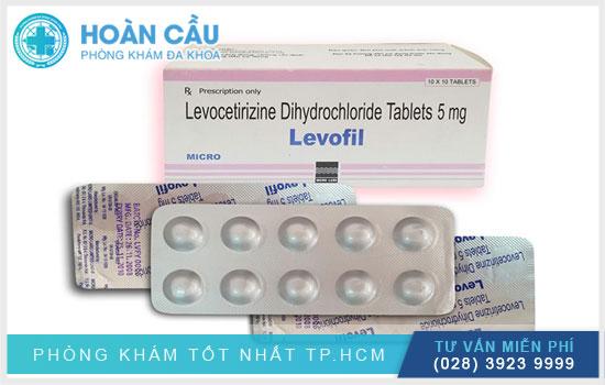 Thuốc Levocetirizine điều trị dị ứng trên cơ chế kháng histamine