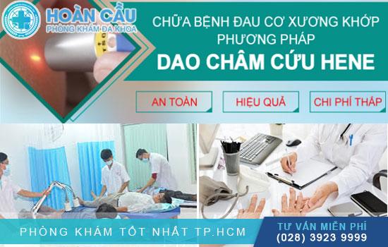 Điều trị bệnh xương khớp hiệu quả bằng phương pháp dao châm He-ne