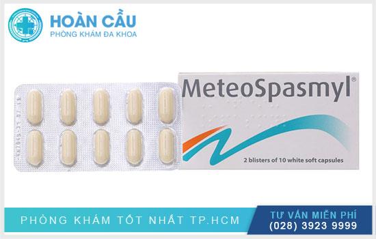 Thuốc Meteospasmyl giúp chống co thắt cơ trơn, giảm sức căng bề mặt niêm mạc dạ dày