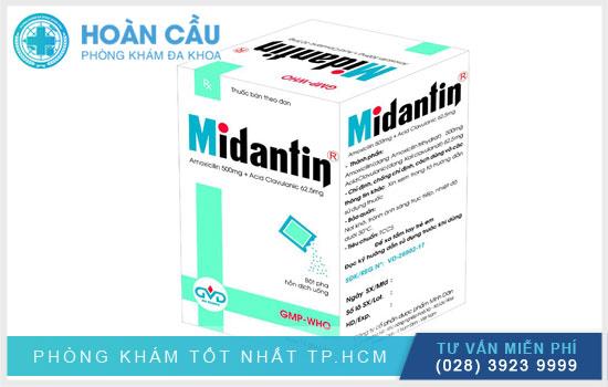 Thuốc Midantin: Thành phần, công dụng và lưu ý khi dùng