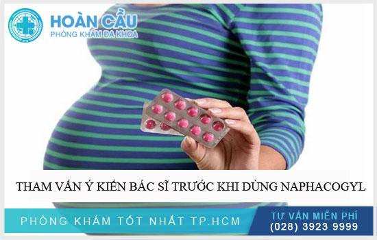 Tham vấn ý kiến bác sĩ trước khi dùng Naphacogyl