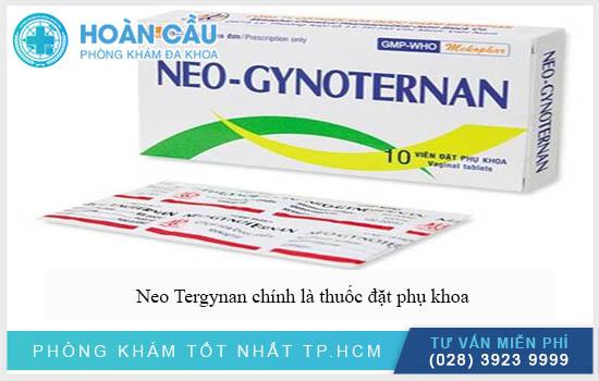Neo Tergynan chính là thuốc đặt điều trị các bệnh viêm nhiễm vùng kín