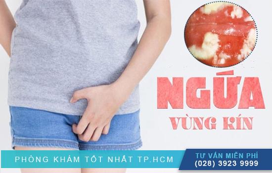 Ngứa vùng kín là dấu hiệu của âm đạo bị nhiễm khuẩn