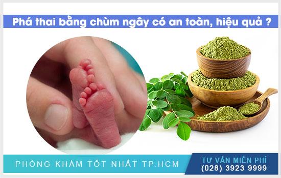 Phá thai bằng cây chùm ngây có an toàn hiệu quả