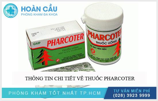 Thông tin chi tiết về thuốc Pharcoter