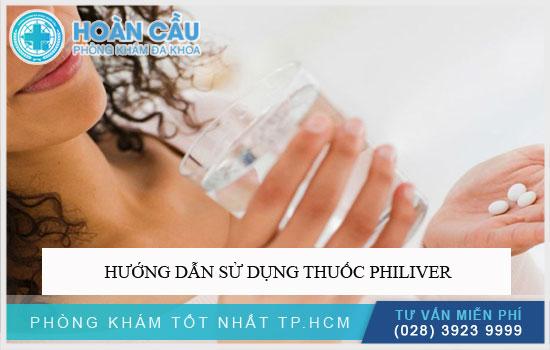 Hướng dẫn sử dụng thuốc Philiver
