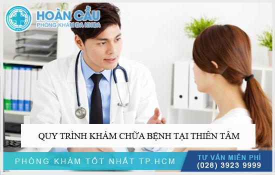 Quy trình khám chữa bệnh tại Thiên Tâm