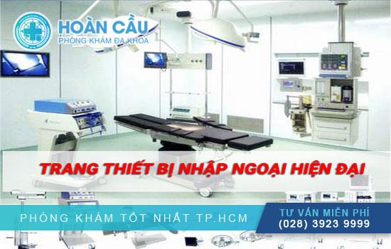 Thiết bị y tế và máy móc hiện đại