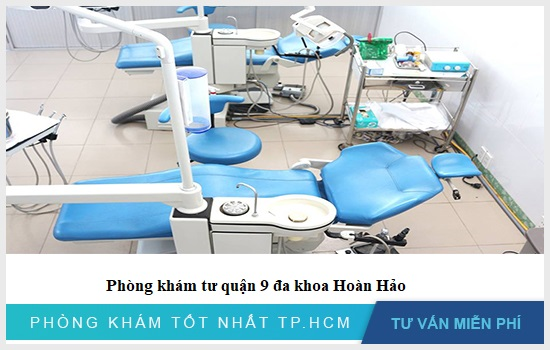 Phòng khám tư quận 9 đa khoa Hoàn Hảo có cơ sở hiện đại
