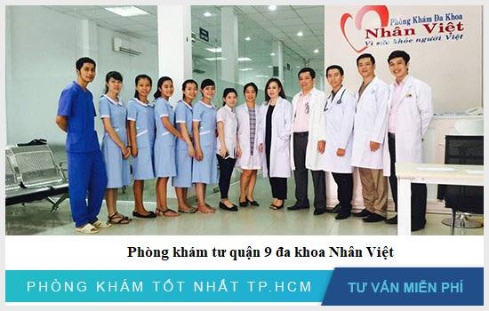 Phòng khám tư quận 9 đa khoa Nhân Việt