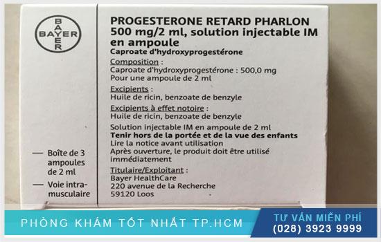 Progesterone-Retard 250mg là thuốc gì? Liệu lượng sử dụng ra sao?