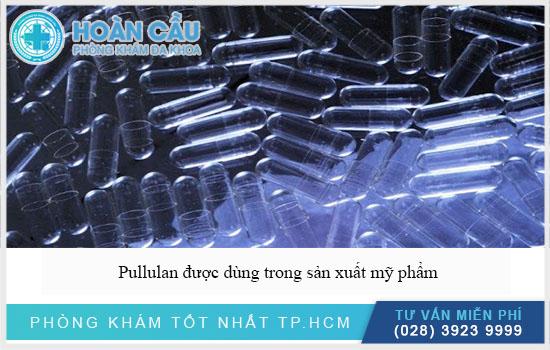 Pullulan được dùng trong sản xuất mỹ phẩm