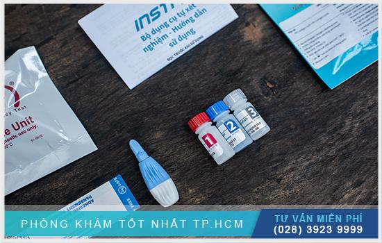 bộ que thử insti hiv test