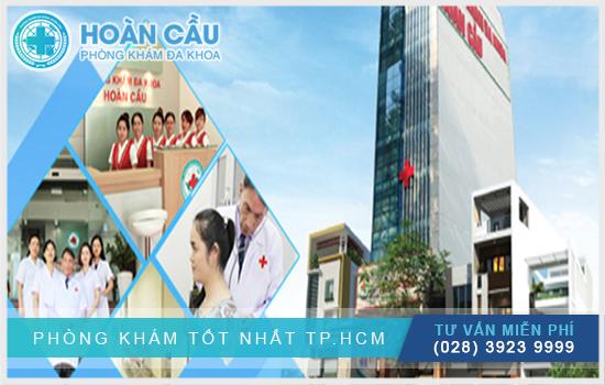 Phòng khám Hoàn Cầu có đa dạng các phương pháp chữa bệnh