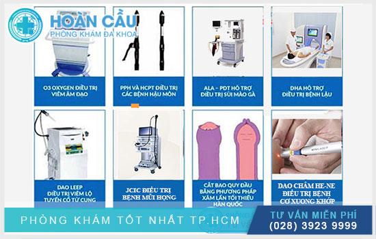 Những phương pháp điều trị tại Đa Khoa Hoàn Cầu