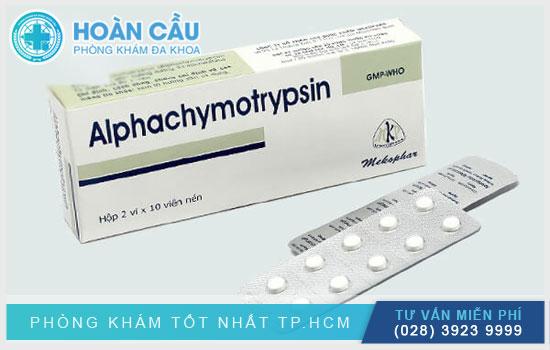 Thuốc Alpha chymotrypsin – có tác dụng kháng viêm và giảm phù nề