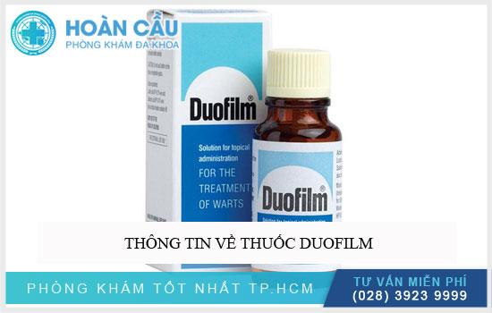 Thông tin về thuốc Duofilm