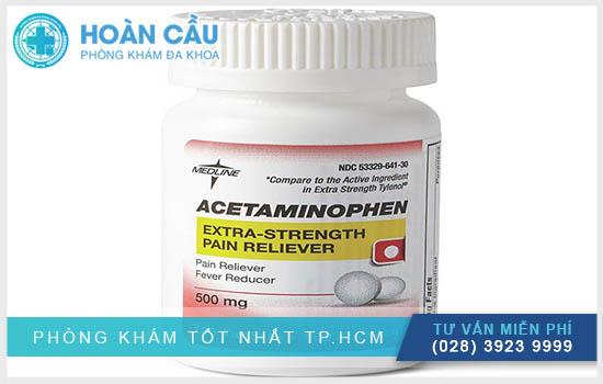 Cần dùng thuốc Acetaminophen 500 mg theo chỉ dẫn từ bác sĩ