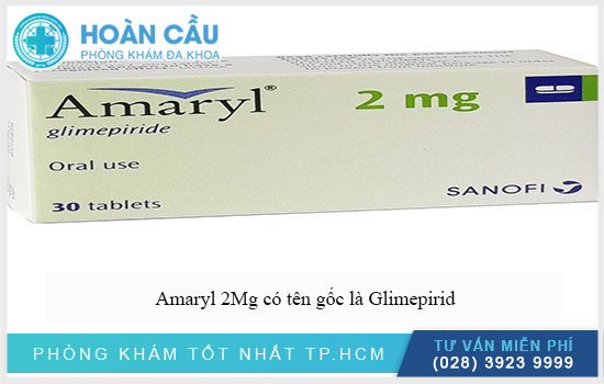 Thuốc Amaryl 2Mg có công dụng như thế nào?