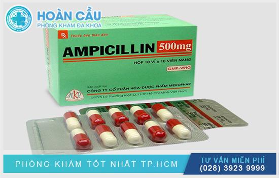 Thuốc kháng sinh Ampicillin có tác dụng giết chết nhiều loại vi khuẩn