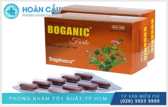 Thuốc bổ gan Boganic – sản phẩm của Công ty dược phẩm Traphaco