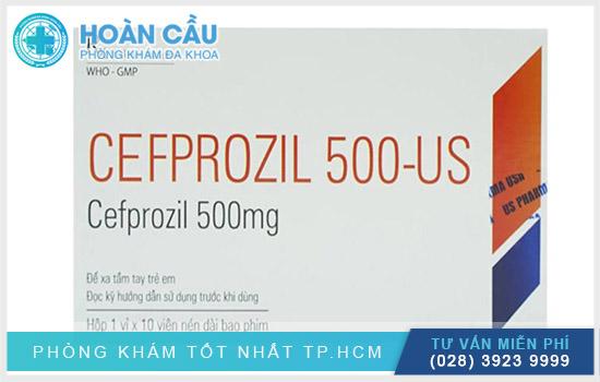 Cefprozil chính là loại thuốc kháng sinh chỉ định điều trị các tình trạng liên quan đến nhiễm trùng