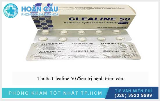 Thuốc Clealine 50 hỗ trợ điều trị bệnh trầm cảm