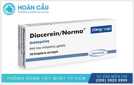 Diacerein chính là loại thuốc được chỉ định điều trị các tình trạng bởi bệnh thoái hóa khớp
