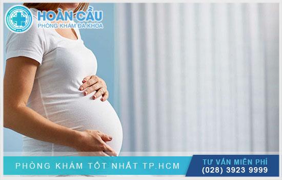 Thông báo với bác sĩ nếu bản thân đang mang thai
