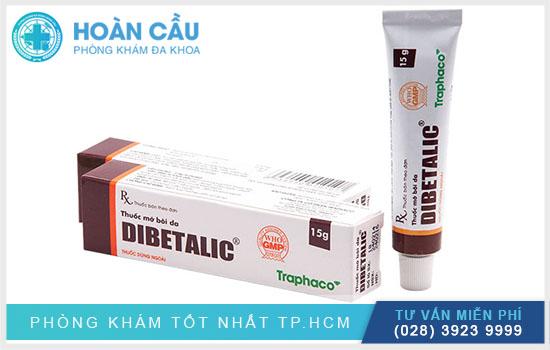 Dibetalic chính là thuốc điều trị bệnh lý da liễu