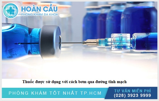 Thuốc được dùng theo cách tiêm truyền tĩnh mạch