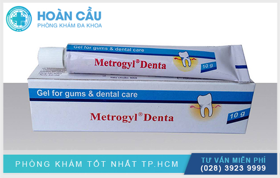 Metrogyl denta có tên biệt dược là Metrogyl® Denta
