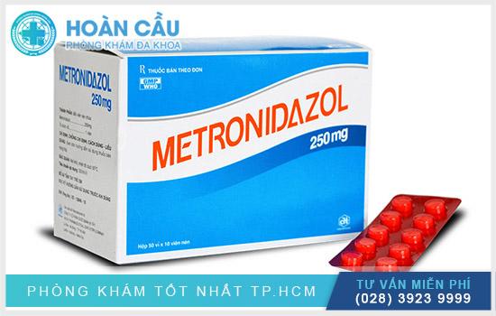 Metronidazol chính là nhóm thuốc kháng sinh