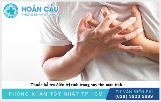 Thuốc hỗ trợ điều trị với bệnh nhân bị suy tim mãn tính