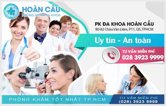 Đa Khoa Hoàn Cầu - địa chỉ khám chữa bệnh tai mũi họng đáng tin cậy