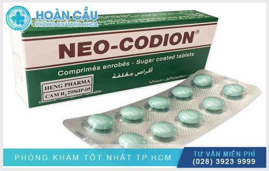 Neo Codion thường được sử dụng trong việc điều trị các chứng ho ở người lớn
