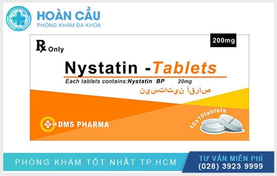 Nystatin chính là loại thuốc được chỉ định điều trị nhiễm nấm tại mô mềm cùng niêm mạc