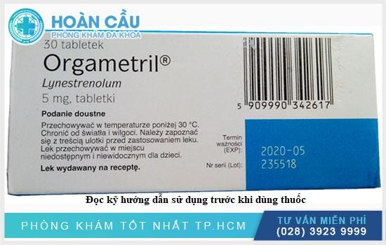 Đọc kỹ hướng dẫn sử dụng trước khi dùng thuốc