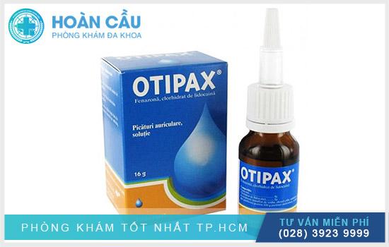 Otipax chính là thuốc điều trị mắt, tai mũi họng