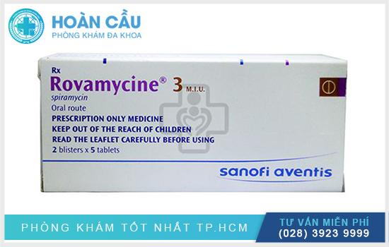 Rovamycine có tên biệt dược là Rovamycine®