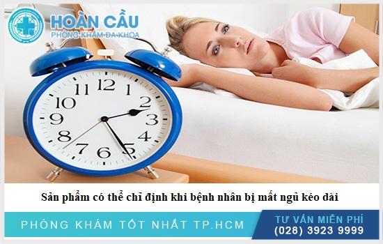 Thuốc chỉ định dùng nếu bệnh nhân bị mất ngủ thường xuyên