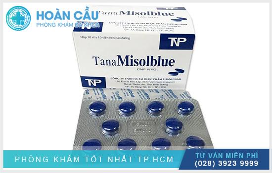 Thuốc TanaMisolblue thuộc nhóm trị ký sinh trùng, kháng virus, kháng nấm, chống nhiễm khuẩn