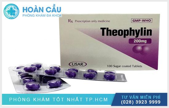 Theophylin là thuốc được chỉ định điều trị với bệnh nhân bị hen suyễn