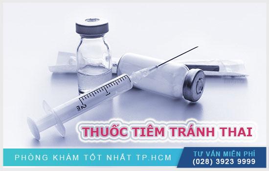 Tiêm thuốc tránh thai ở cơ sở y tế