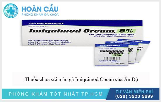 Thuốc chữa sùi mào gà Imiquimod Cream của Ấn Độ