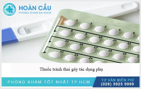 Cẩn thận thuốc tránh thai gây tác dụng phụ