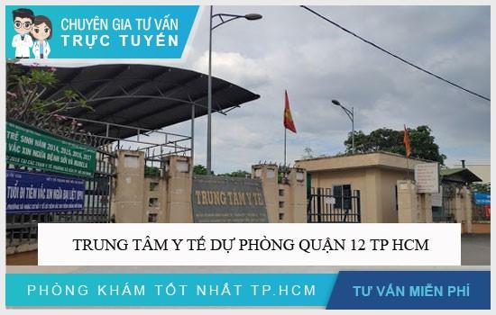 Trung tâm y tế dự phòng quận 12 TP HCM
