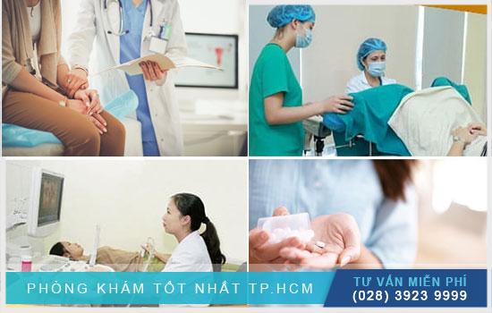 Điều trị ứ dịch lòng tử cung tại phụ khoa Hoàn Cầu